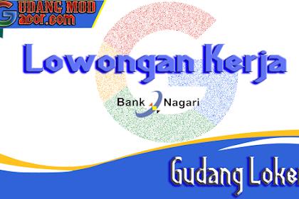 Lowongan Kerja Bank Nagari Terbaru Juli 2020