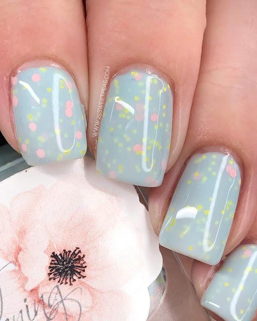 My Stunning Nails Ribbons & Bows 25 Sweetpeas