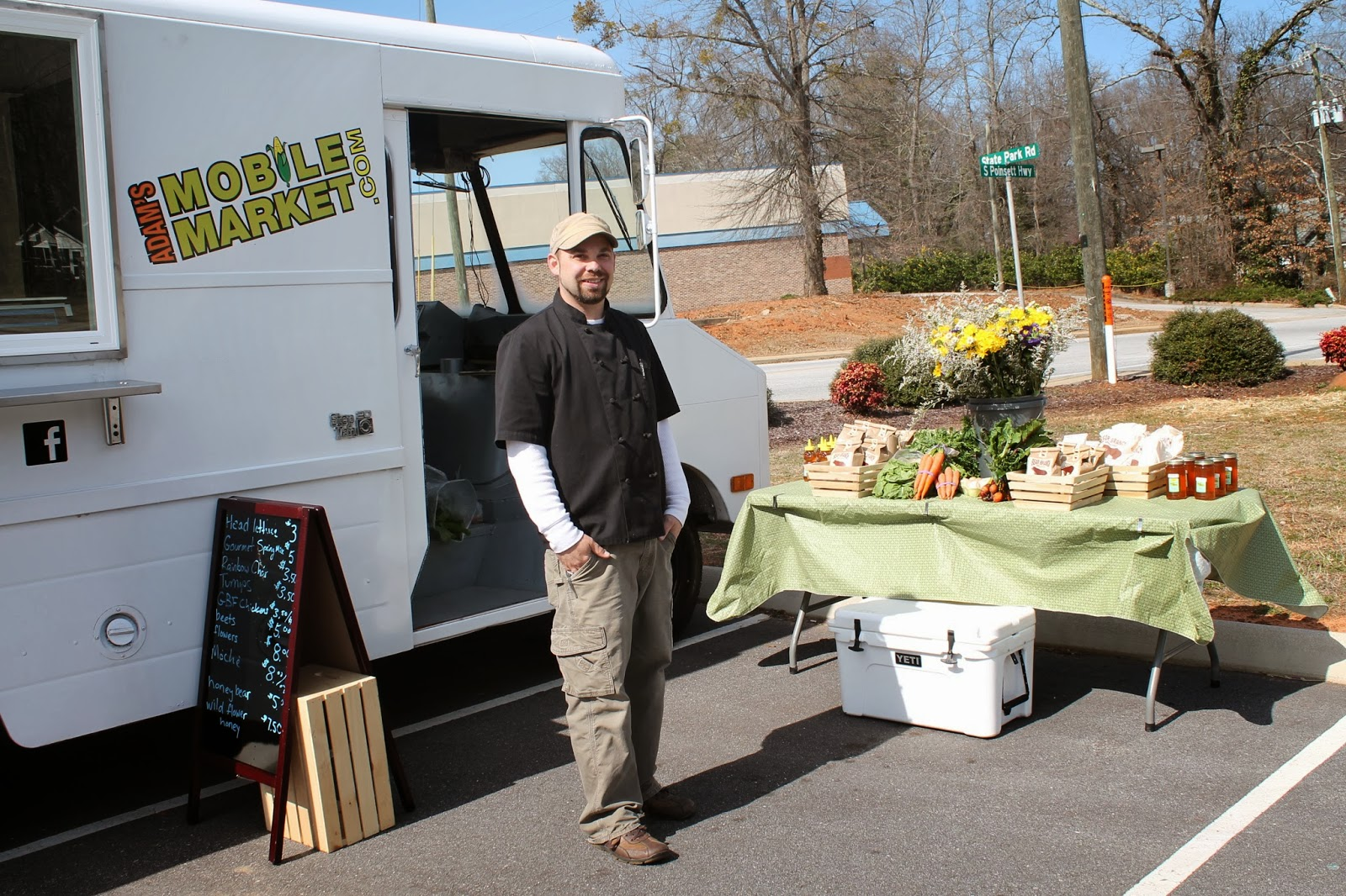 Adam's Mobile Market offers organic and fresh options to Travelers Rest