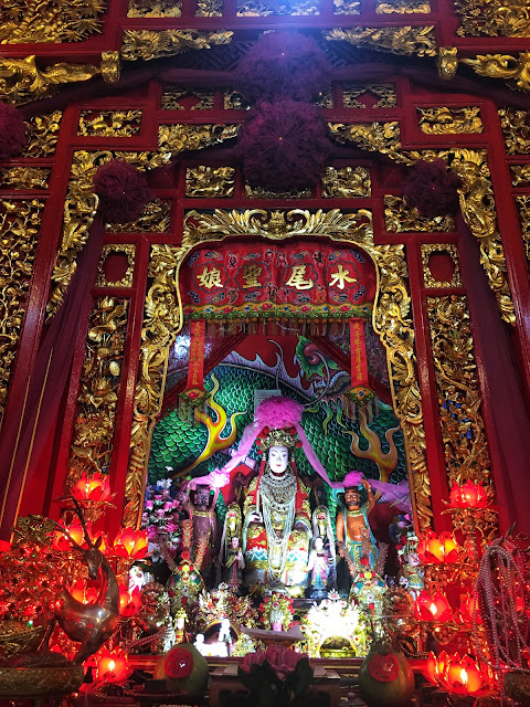 the shrine is important in the Thai-Chinese community