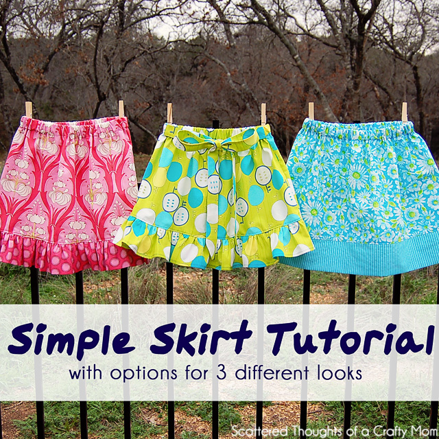 Easy Skirt Sewing Patterns 118