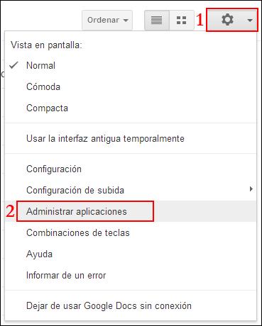 Instalando Aplicaciones en Google Drive