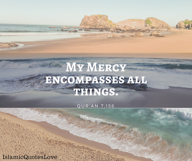 My Mercy encompasses all things.