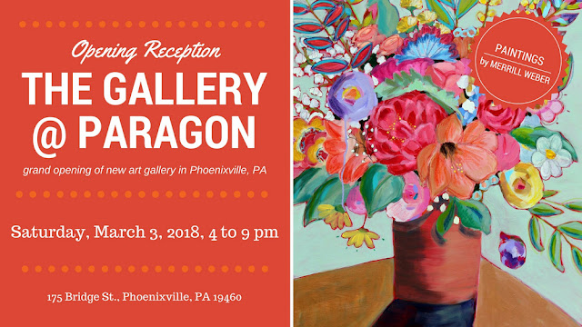 The Gallery at Paragon art exhibition in Phoenixville, PA
