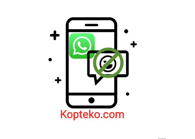 Emoticon WhatsApp Tidak Muncul