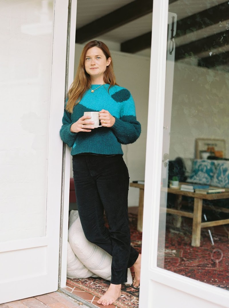 Bonnie Wright Clicked for Canyon Coffee - September 2020