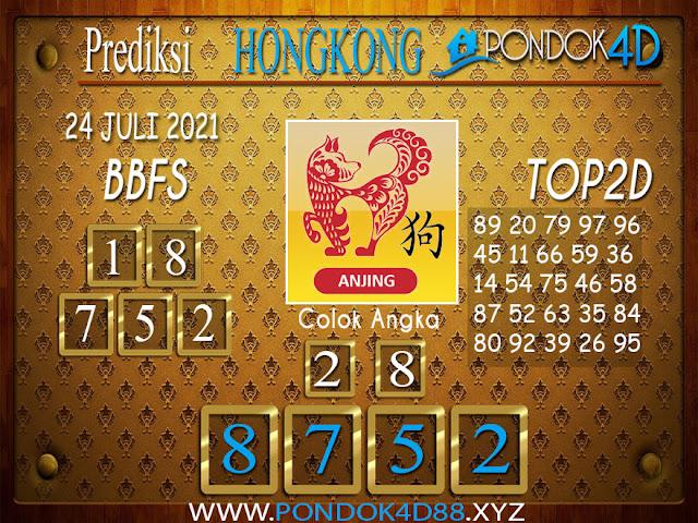 Prediksi Togel HONGKONG PONDOK4D 24 JULI