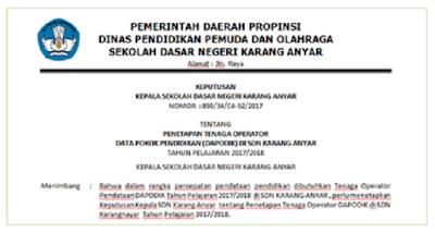 Download SK Guru Honorer Dan OPS Terbaru 2019/2020