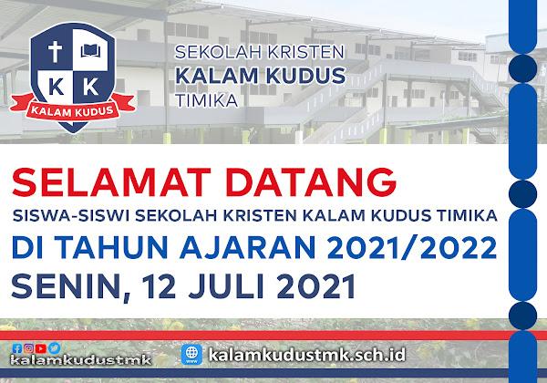 TAHUN AJARAN 2021/2022