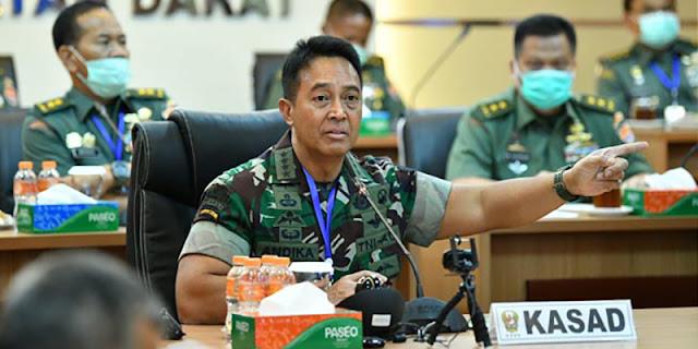 Gagal Tangani Covid-19, Jokowi Disarankan Pilih Jenderal Andika Perkasa Gantikan Luhut Binsar Pandjaitan