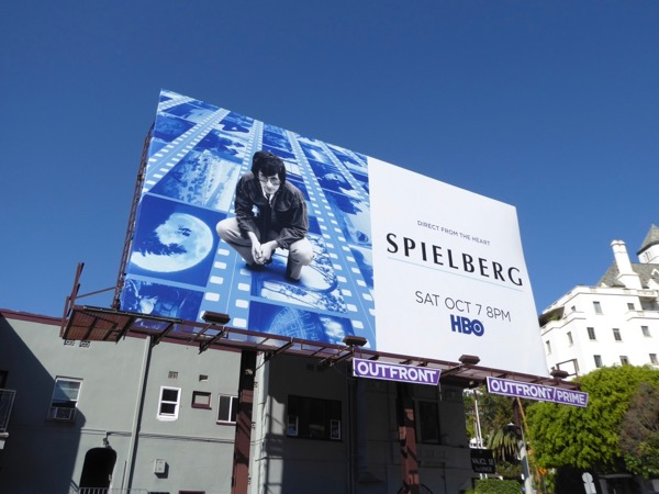 Spielberg documentary film billboard