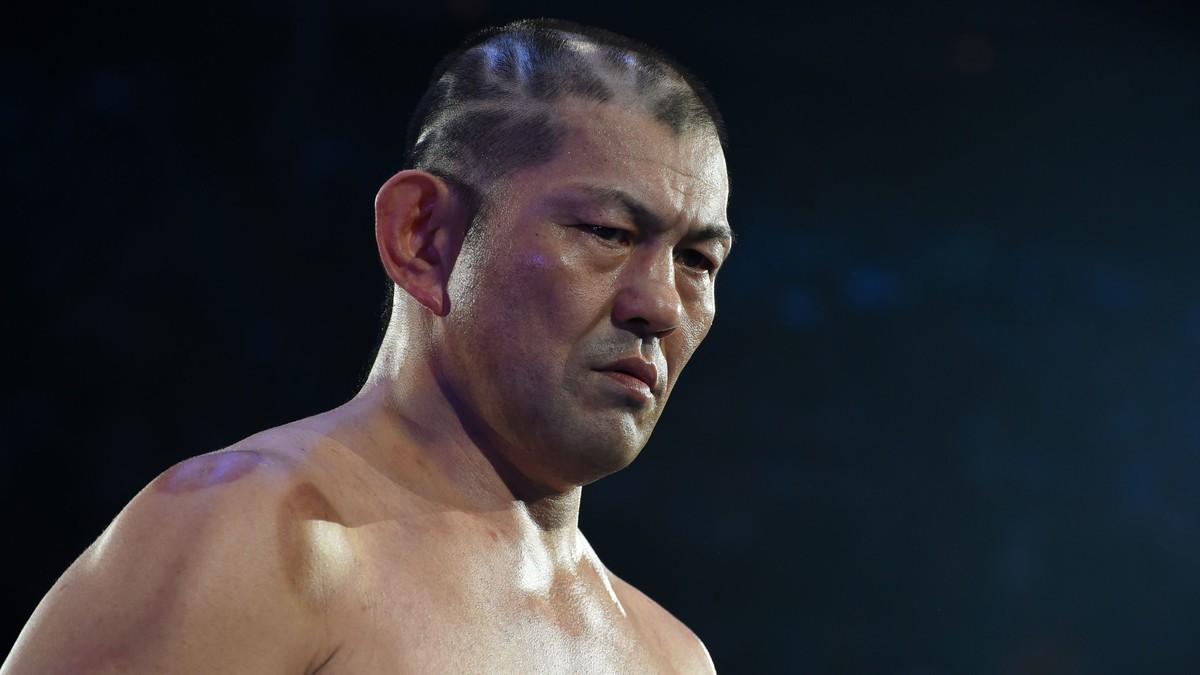 Minoru Suzuki faz sua estreia no AEW All Out 2021