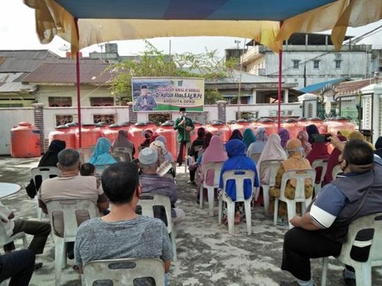 Sosok Seorang Anggota DPRD Meranti Laksanakan Kegiatan Amal Dan Sosial Salurkan 55 Unit Pah Pada Warga