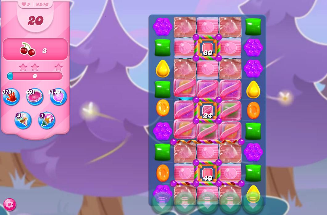 Candy Crush Saga level 9240