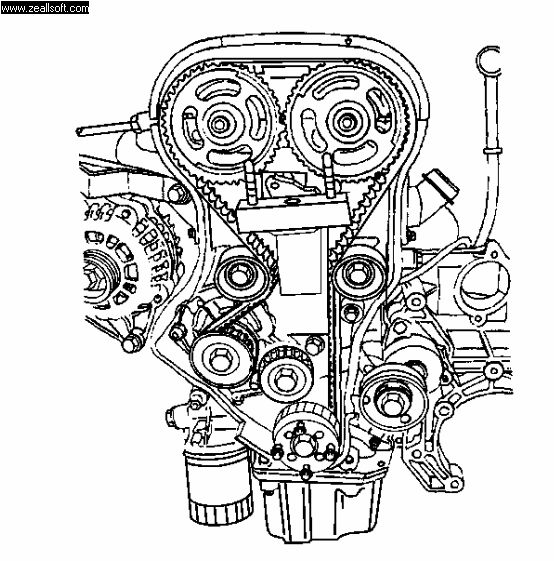 Ajuste de Motor: Marcas de Distribución Chevrolet Optra 1.8