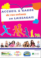 Plaquette Accueil et Garde d'enfants en Laissagais