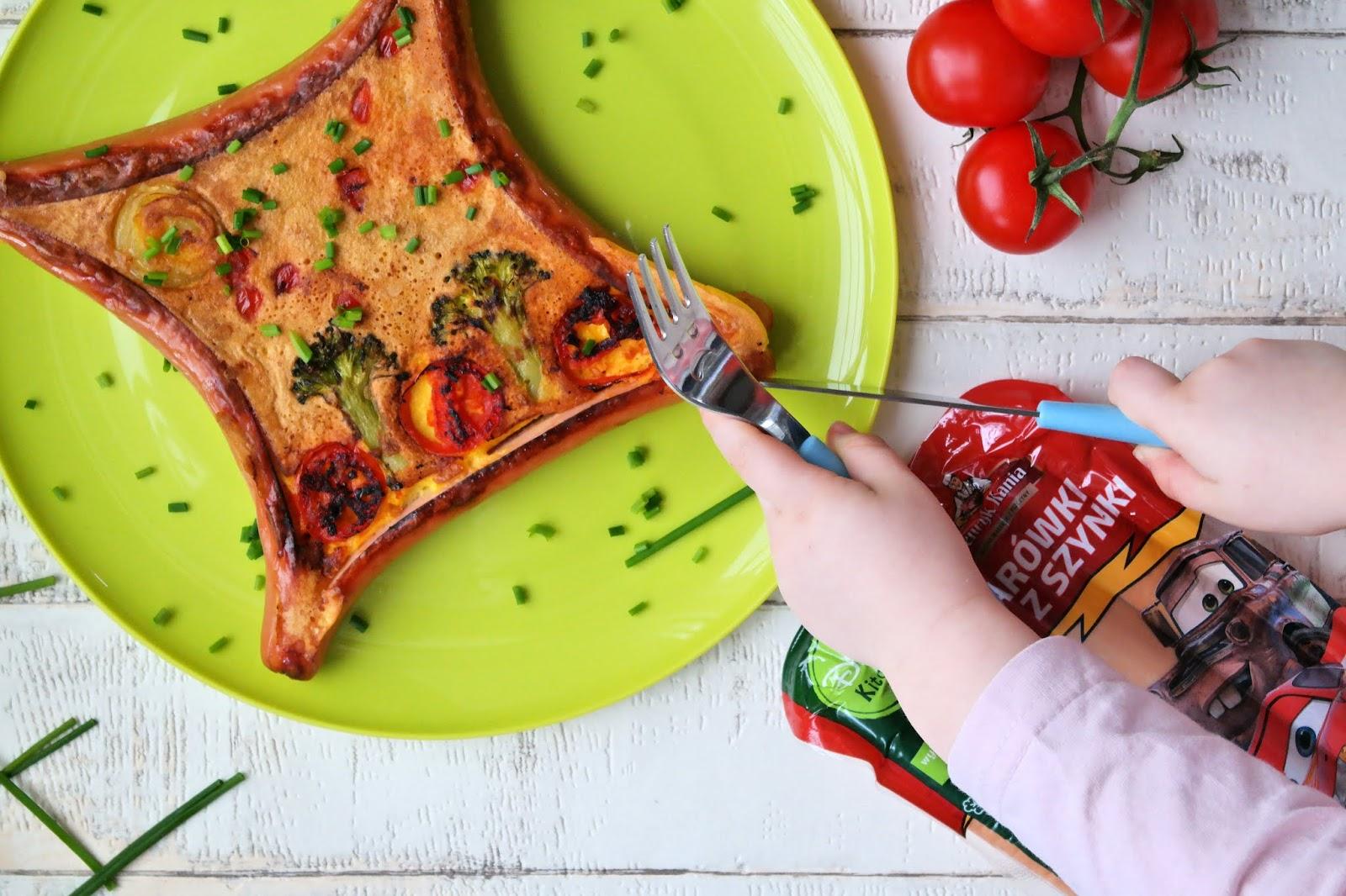 omlet na słono