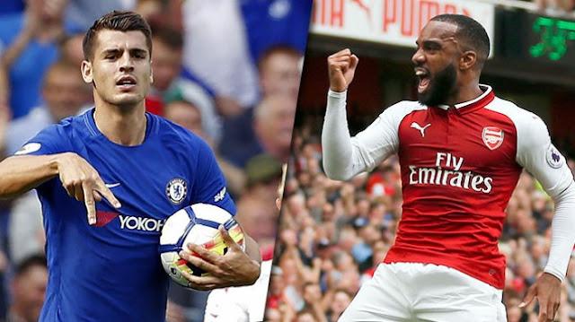 Prediksi Piala Liga : Chelsea vs Arsenal 11 Januari 2018