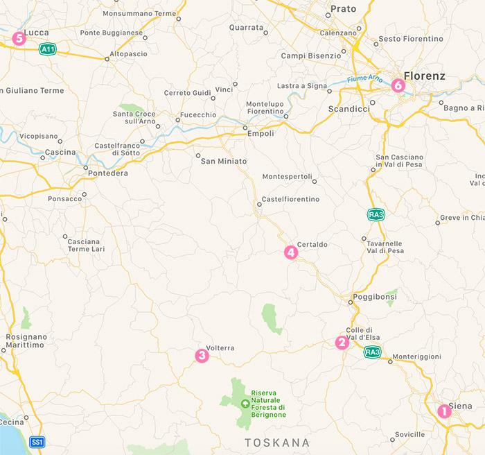 Eine Reise Durch Die Toskana Und Big News Ann Meer Bloglovin