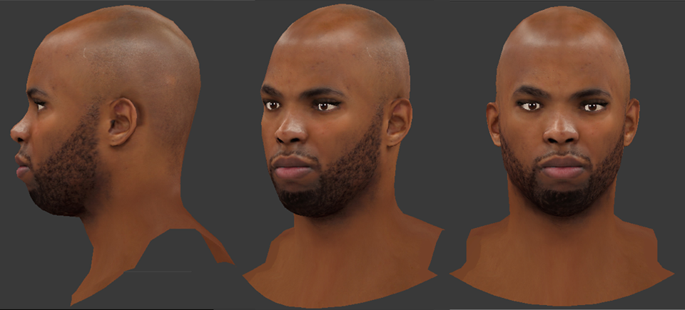 NBA 2K18 Taj Gibson HD Cyberface