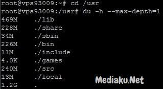 Mengetahui Penggunaan Disk Di VPS