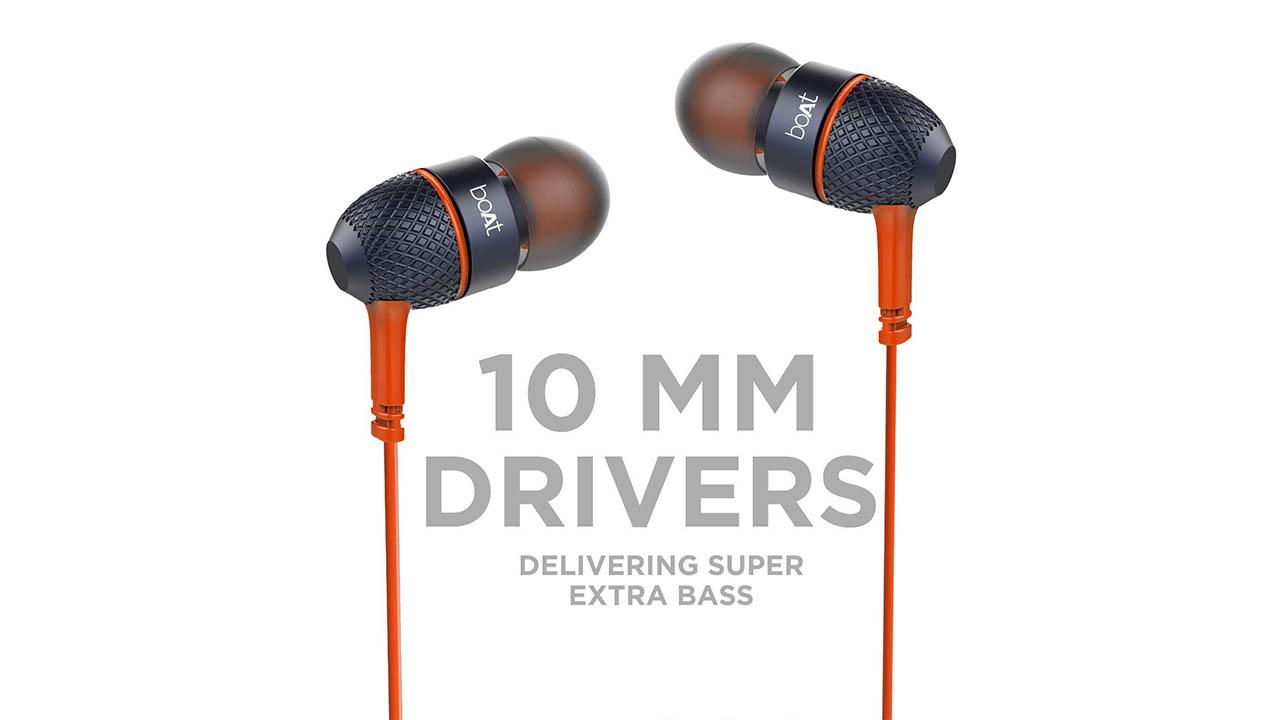 boAt BassHeads 225 in Ear Wired Earphone