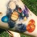 10 tatuagens em aquarela cósmicas surpreendentes!