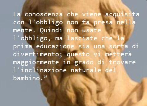 formare i bambini Platone