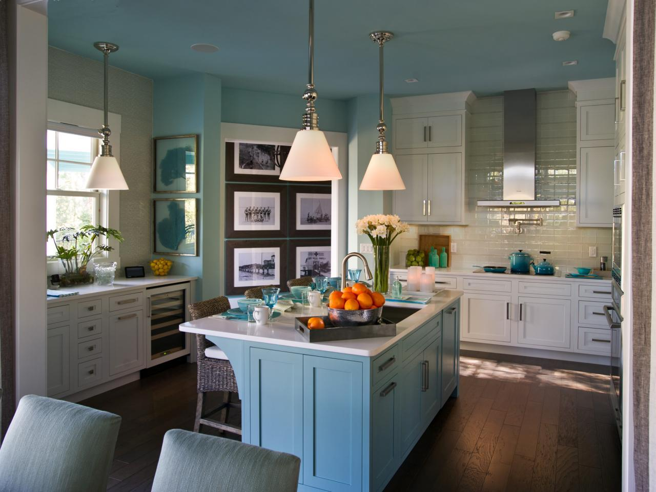 Blue And White Country Kitchen Ideas Best Interior Design Decorating Images