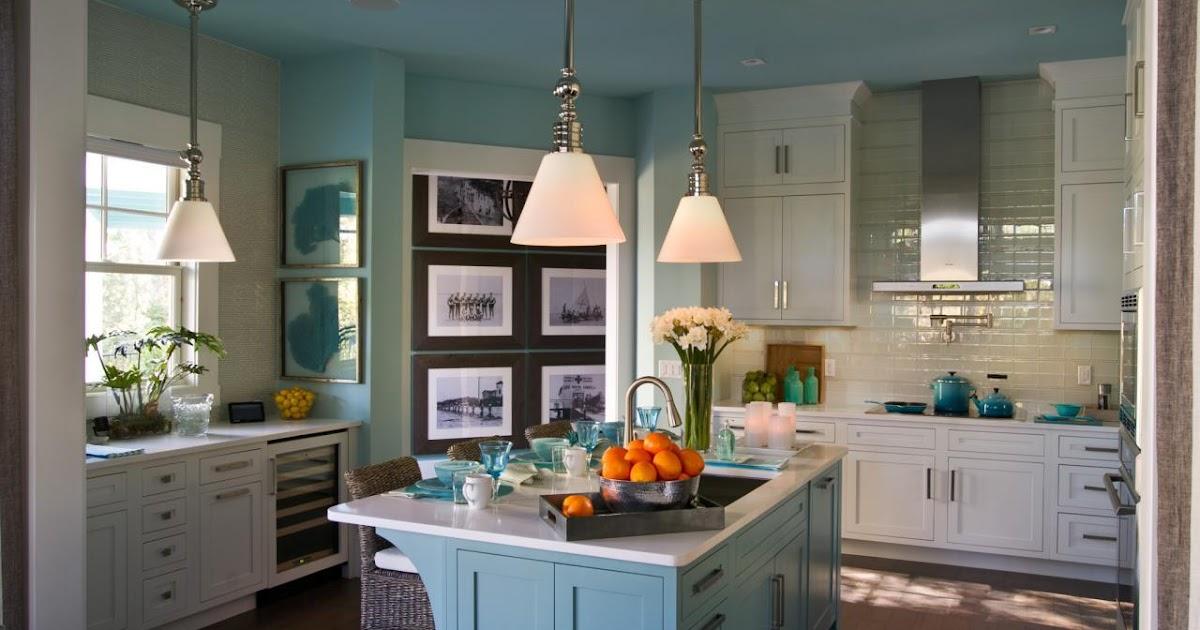 Blue And White Country Kitchen Ideas Home Interior Exterior Decor Design Ideas
