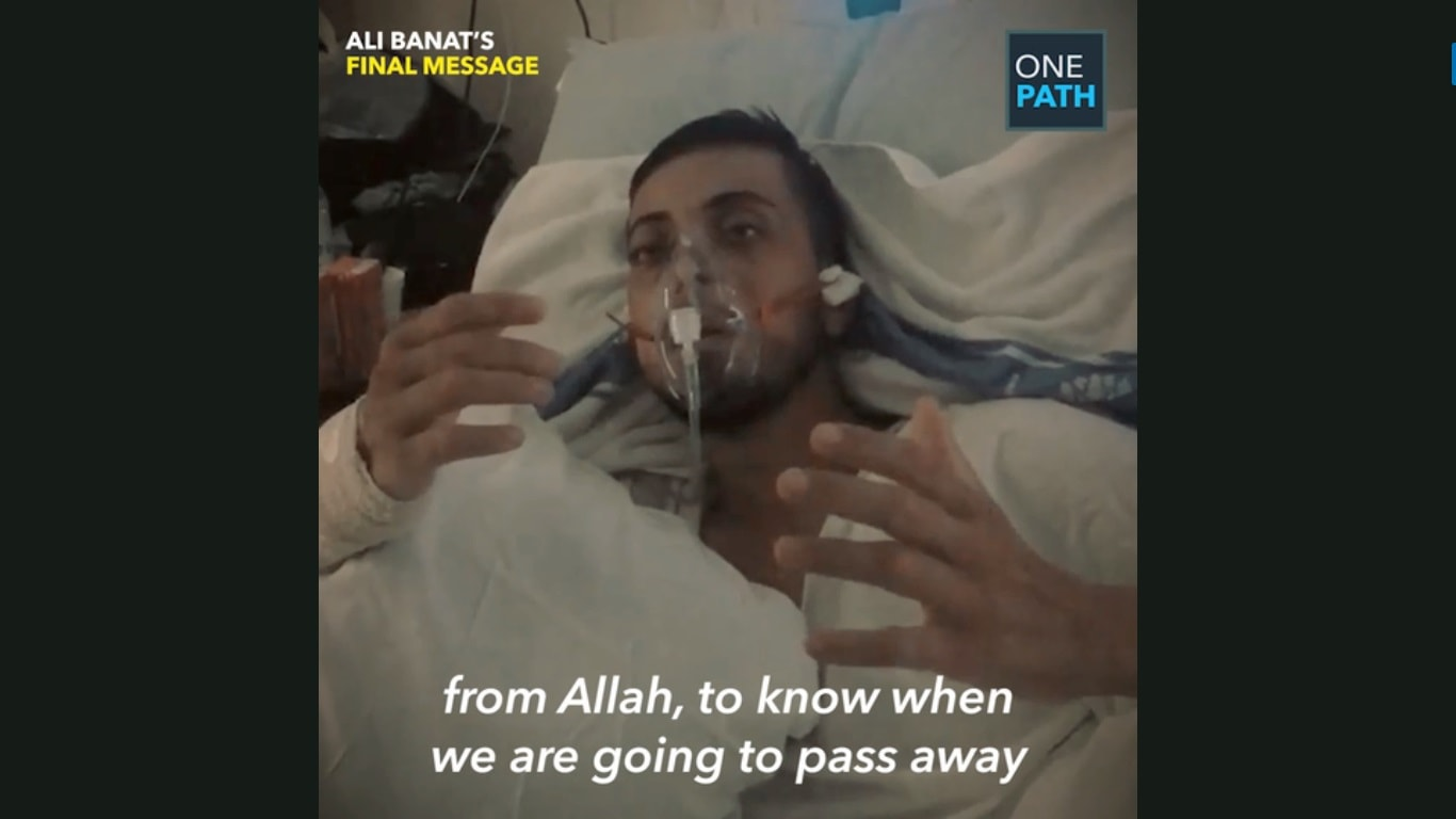 Ali Banat's Final Message (Gifted With Cancer)