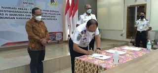 KSOP Marunda - Disnav Tanjung Priok dan Stakeholder Pelabuhan Marunda  Kolaborasi Survey Mandiri Untuk Penetapan Alur Pelayaran