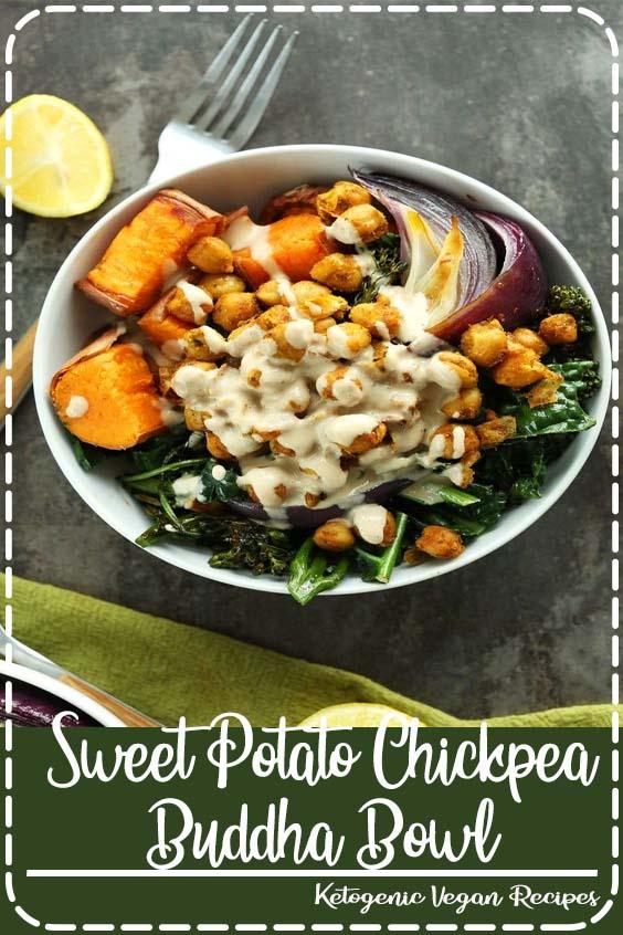 minute CHICKPEA Sweet Potato BUDDHA Bowls Sweet Potato Chickpea Buddha Bowl