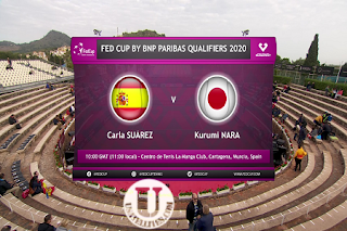 FED Cup BNP Paribas Qualification AsiaSat 5 Biss Key 8 February 2020
