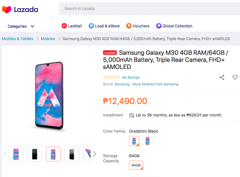 Samsung Galaxy M30 will arrive in the Philippines on August 29