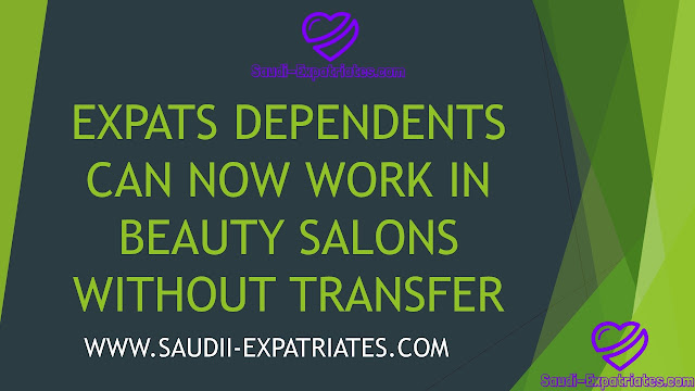 EXPATS DEPENDENTS CAN WORK IN BEAUTY SALON