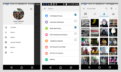 BBM IOS 8 LIGHT THEMES BASED 2.13.0.26 APK