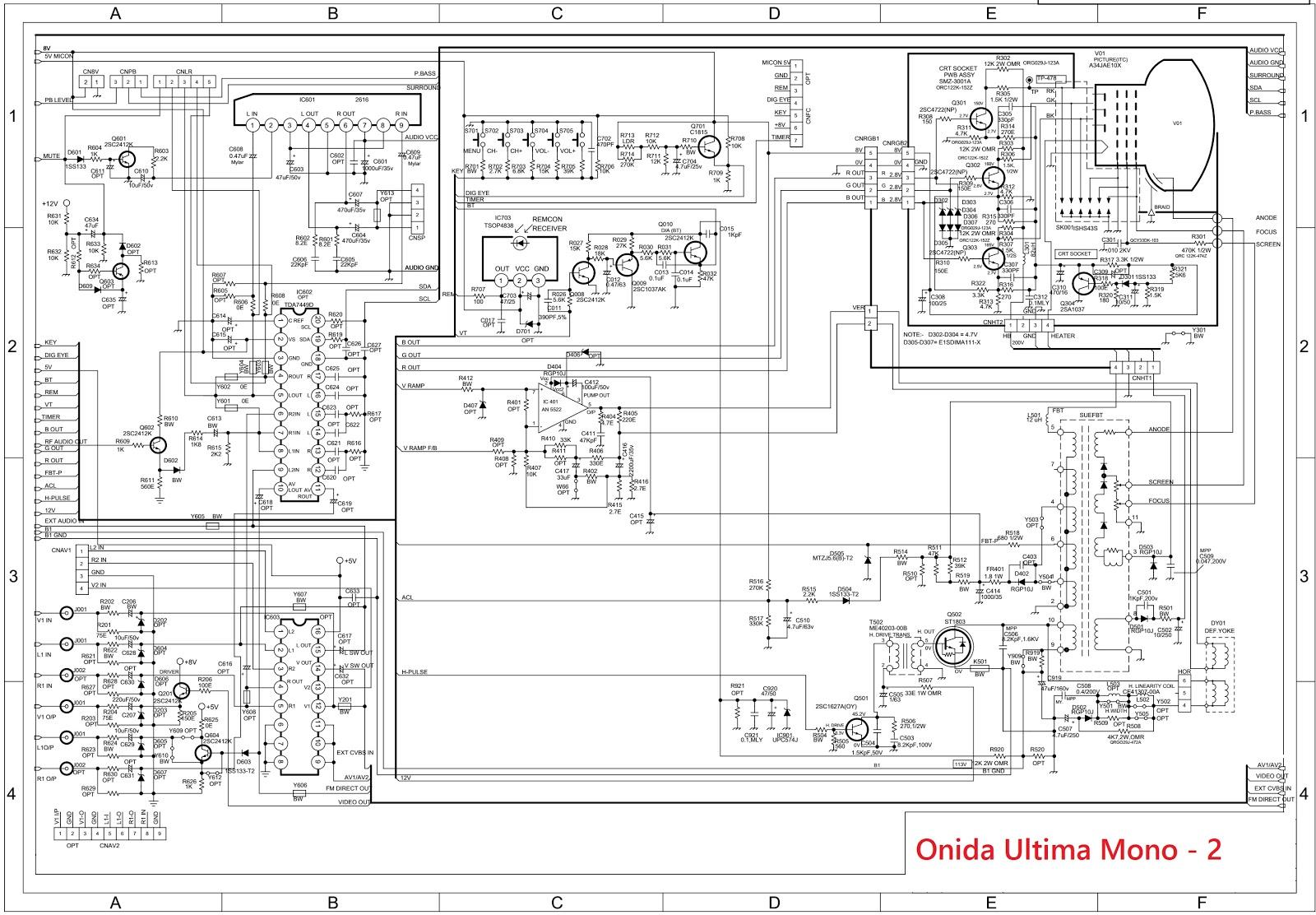 small resolution of onida ultima stereo