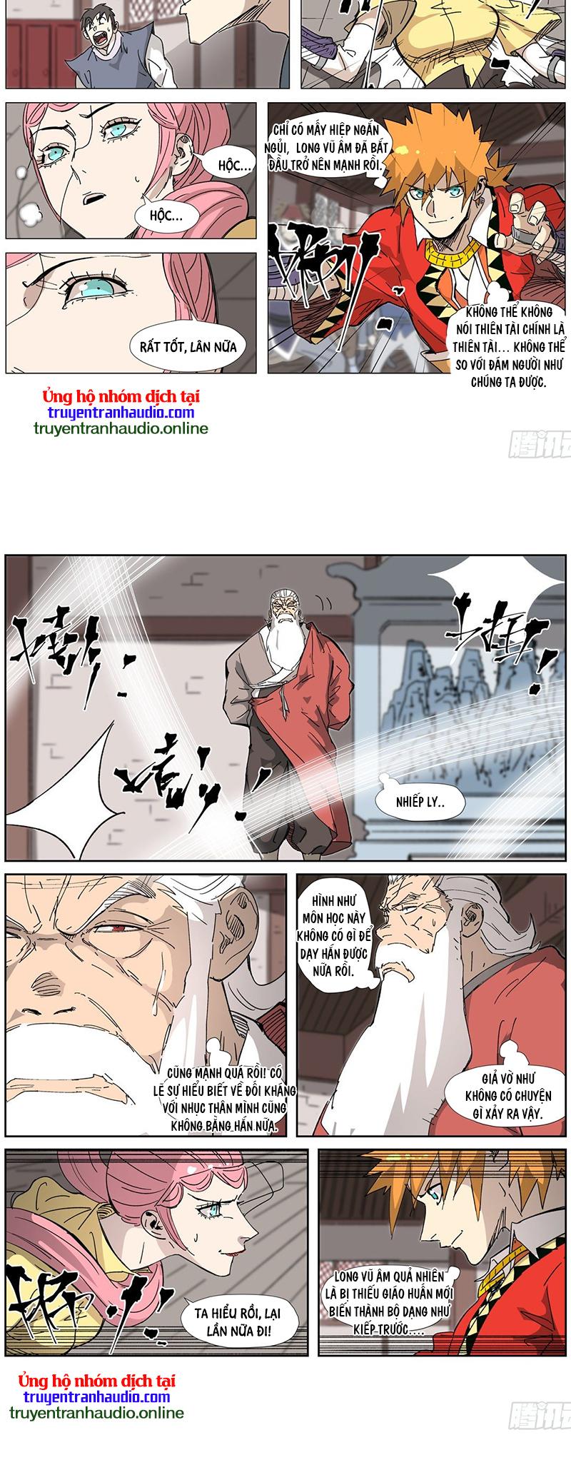 Yêu Thần Ký Chương 331 - truyenmh.com