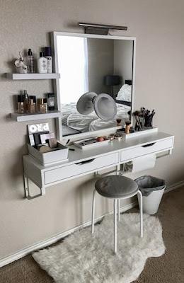 idee postazione makeup