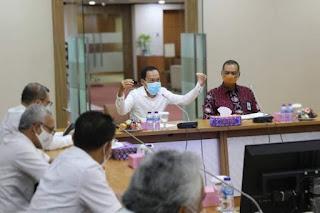 Pjs Wali Kota Medan Apresiasi PT Bank Sumut Dukung PEN, QRIS dan Penataan Kota