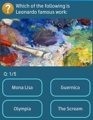 Which of the following is Leonardo famous work? MY TELENOR