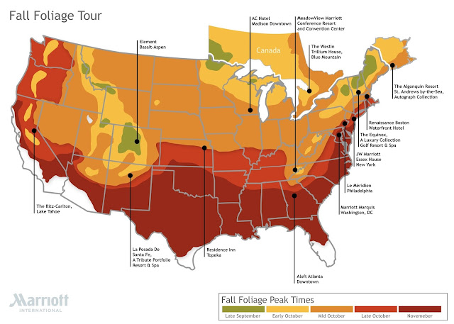 Fall Foliage Tour Curated by Marriott