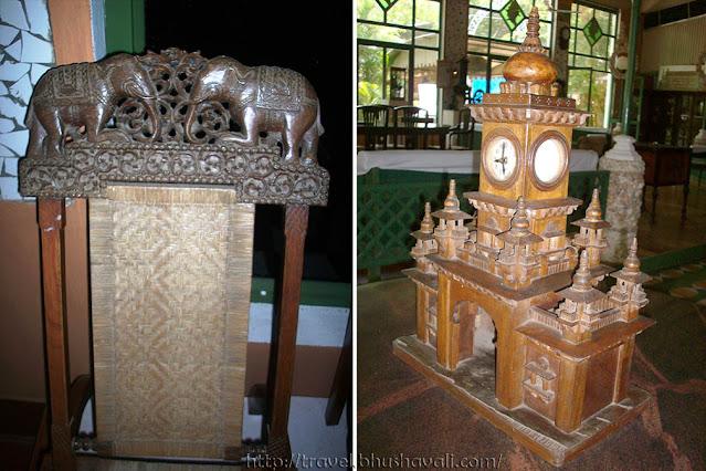 Steve Borgia Indian Heritage Museum Furniture Clocks