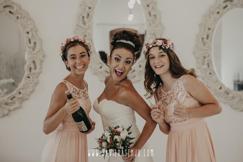 preparativos novia en villa maria bonita
