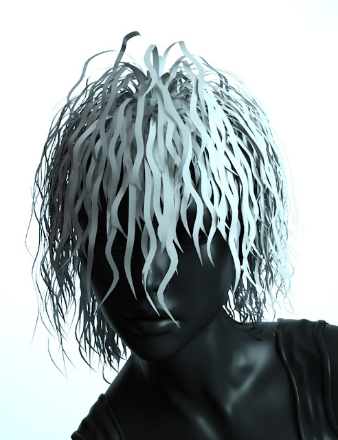 Nightmare Hair for Genesis 3 Female and Male