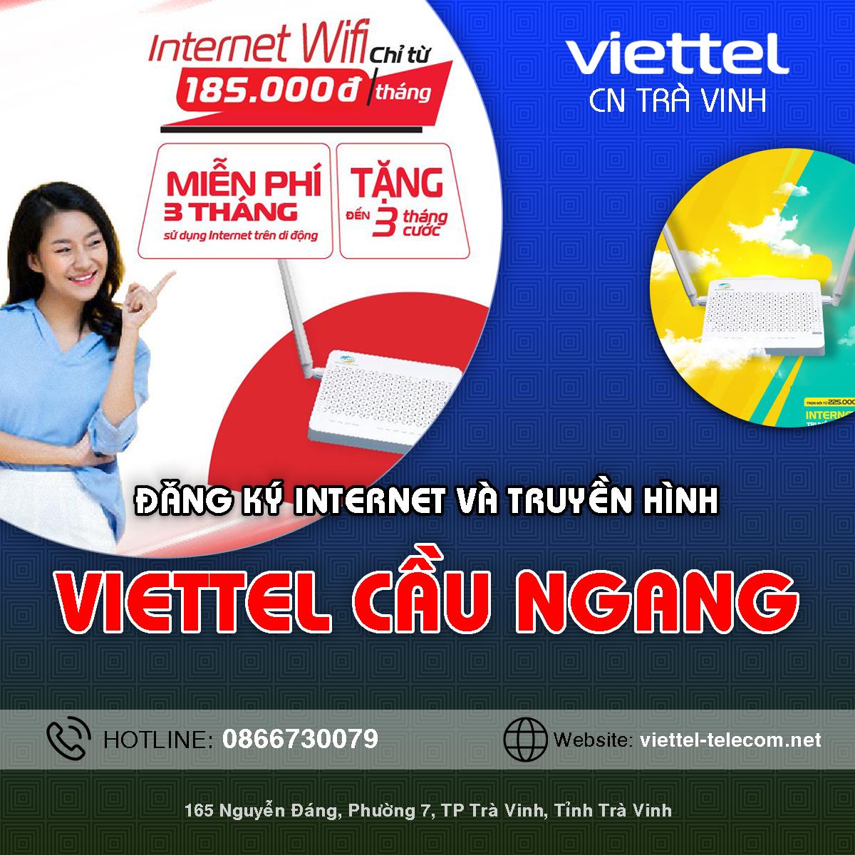 Cửa hàng Viettel huyện Cầu Ngang
