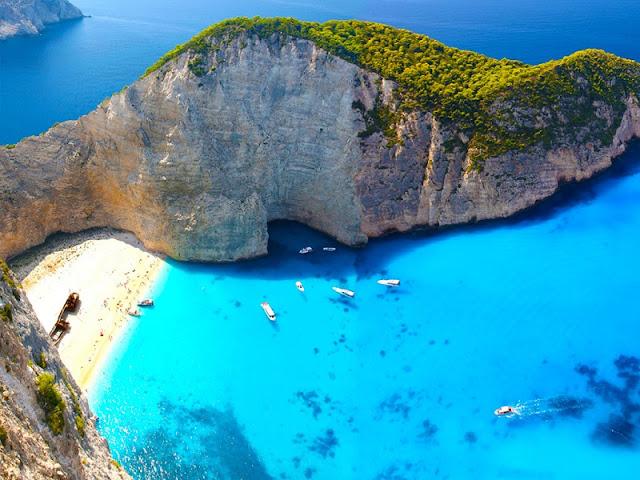 Ilha de Zaquintos, Grécia