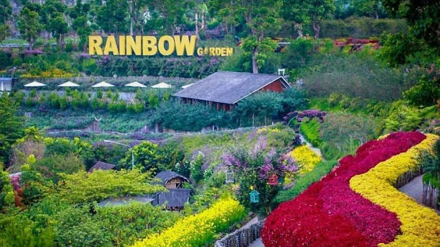 Rainbow Garden Lembang, Rekreasi Taman Bunga Penuh Keindahan