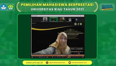 Nurul Izazah Mapres Utama Universitas Riau 2021